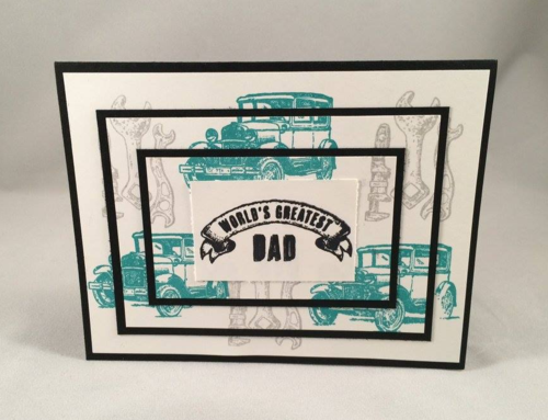 Triple time stamping Father's Day