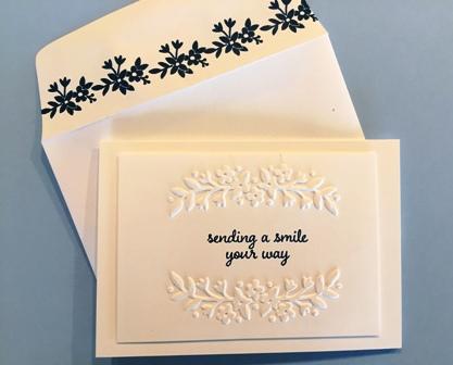 Love & Affection make & take card