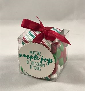 BLOG presents & pinecones box