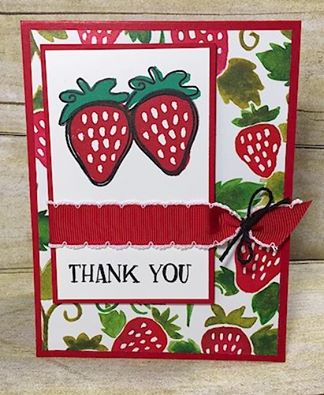Strawberry Thank You