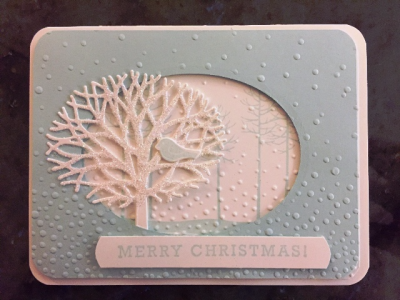 Lynne's soft sky card