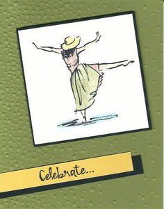 Dancing in green w celebrate