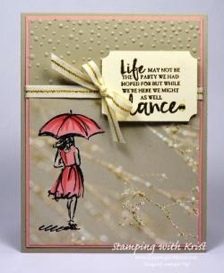 Umbrella w Falling in Love DSP