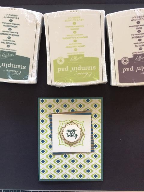 Card w 3 stamp sets for blog