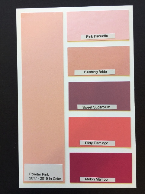Powder Pink Chart