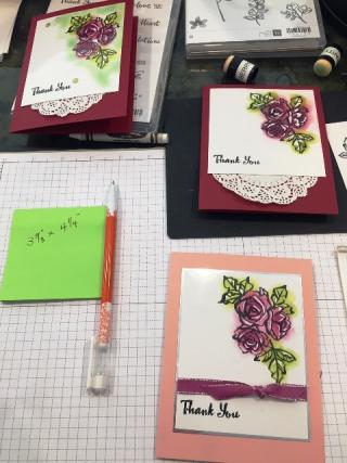 Preparing samples crayon resist