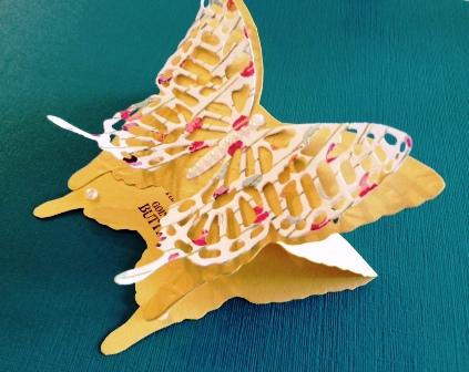3-D Butterfly 2