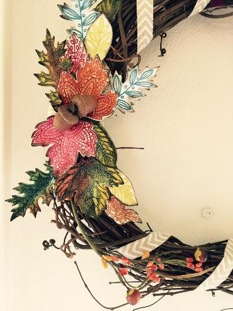 Wreath lg close up
