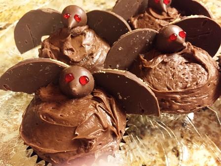 Bat Cupcakes October meeting
