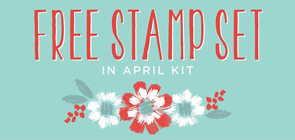April ~ free gift