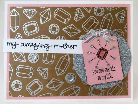 Sparkle and Shine Mother's Day Card