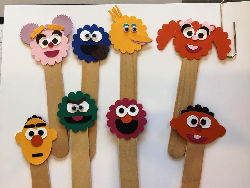 Sesame Street puppets Susan Tran