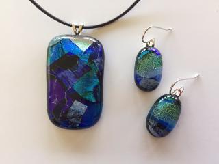 SEM necklace & earrings