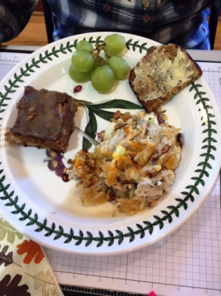 Laurie's Lunch October 2017