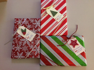 Wrapped packages w tags