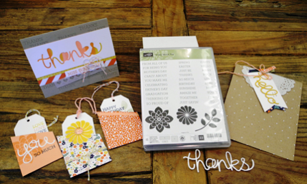 Crazy about you stamp set