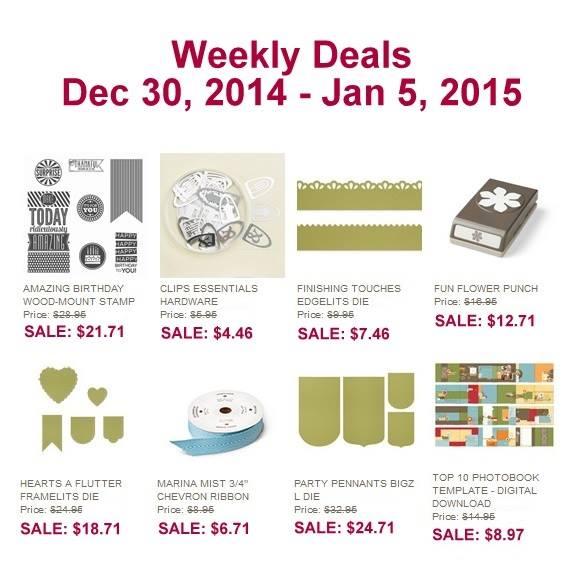 Weekly Sale Dec 30
