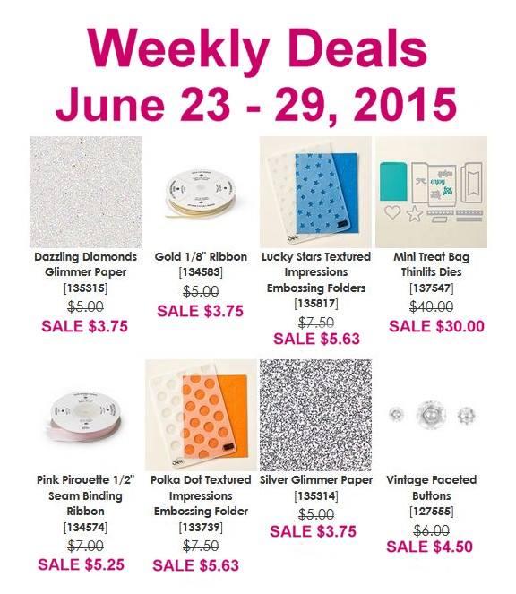 June 23 Weekly Deals