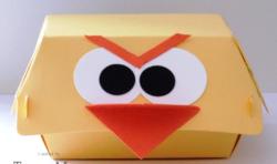 Hamburger box angry birds