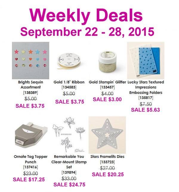 Weekly Deals September 22
