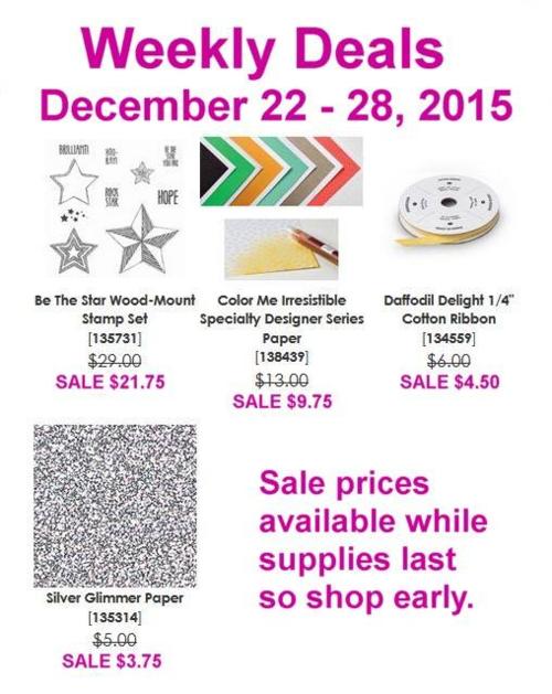 Weekly Deals December 22