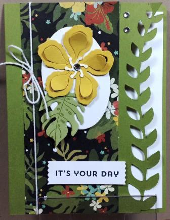 Botanical Blooms stamp set, DSP & Framelits