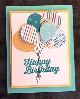 Sue's Party card