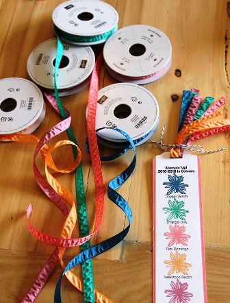 Jackie's picture of ribbon and bookmark