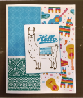 Ann's llama card