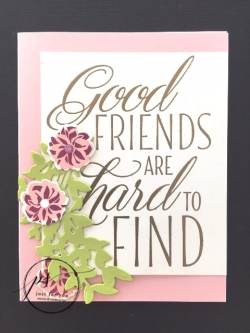 Good Friends are in Powder Pink 1