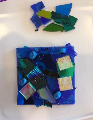 SEM blue square