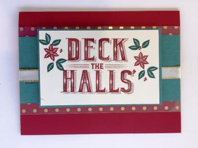 Carols of Christmas Cherry Cobbler & Tranquil Tide