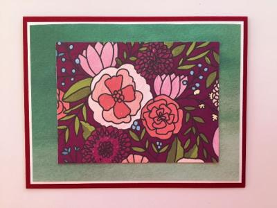 Fast Flower Card