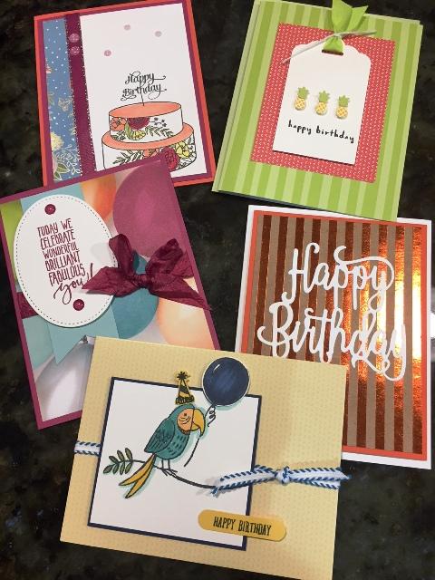 Birthday card class