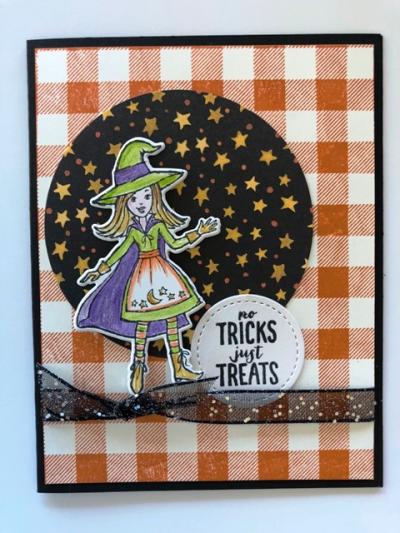 Witch w Buffalo background