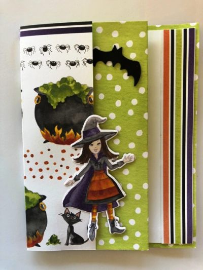 Trifold Witch Card