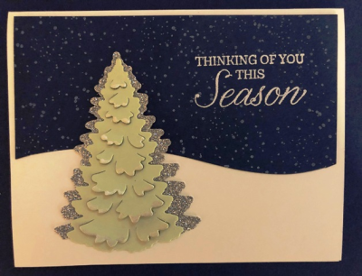 Winter Woods class card