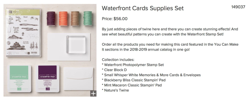 Waterfront Cards