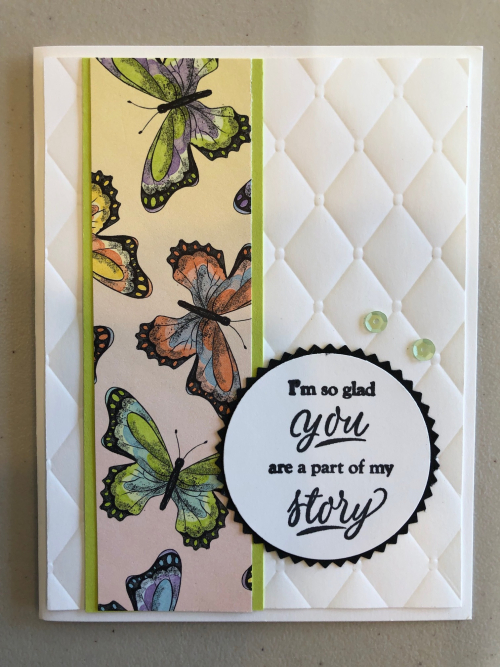 Tufted embossing folder
