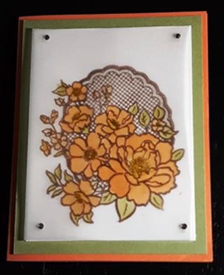 Copper-flowers