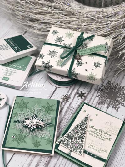 Artisian gift wrap