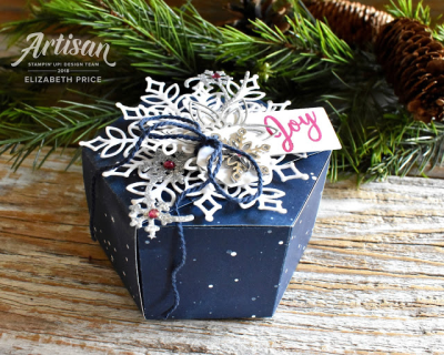 Artisian Gift Box in Blue