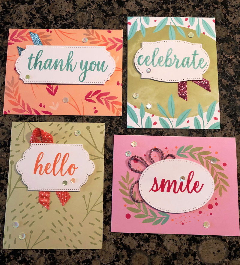 Melissa's cards February