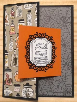 Marion Swaim ~ Spooktacular Bash stamp set  page 54