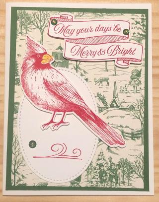 Marti Jones ~ Toile Christmas stamp set  page 6