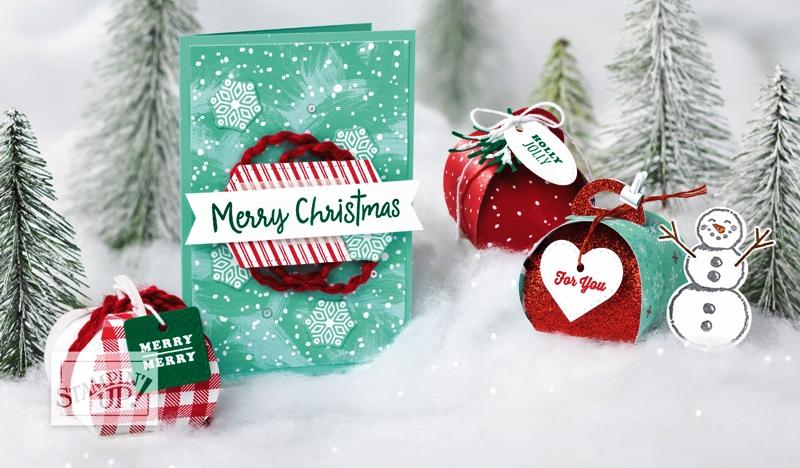 Mini Boxes w snowman