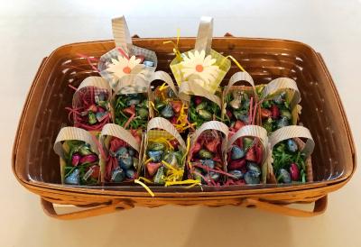 Basket of Easter Baskets