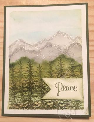 Sarah Williams ~ Snow Front stamp set  page 45