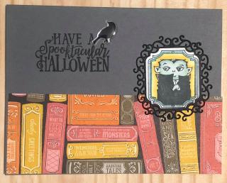 Susan Elise Morton ~ Spooktacular Bash stamp set  page 54