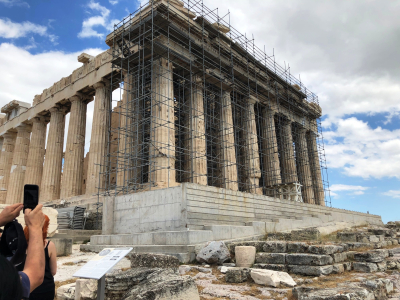 Acropolis under reconstruction